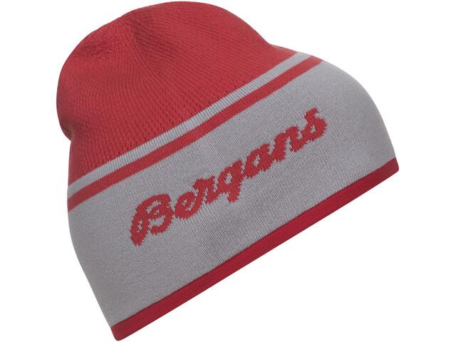 Bergans Seamless Berretto, light dahlia red/alu